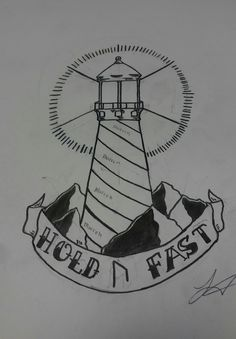 Lighthouse tattoo idea