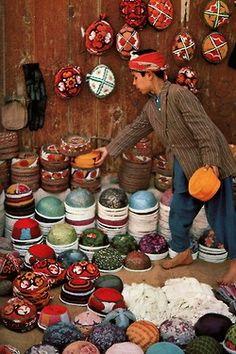 Afghanistan Hat's Market..