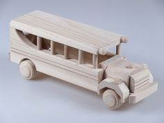 Handmade Wooden Toy Car Design by AfriArtisan Designs