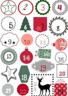 Christmas Countdown, Christmas Calendar, Christmas Holidays, Xmas, Advent Calenders, Diy Advent Calendar, Kids Calendar, Diy Calendario, Calendrier Diy