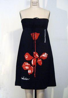 Lovely Violator Depeche Mode Dress