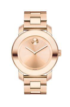Movado 'Bold' Round Bracelet Watch, 36mm | Nordstrom