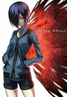 Tokyo Ghoul - I heard the opening song to this anime for the first time today and it's really got me hooked. I really want to start watching this. <<< my brother is obsessed with Tokyo Ghoul. Tokyo Ghoul Saison 1, Ken Tokyo Ghoul, Tokyo Otaku, Noragami, Touka Kagune, Dark Fantasy, Bebe Anime, Touka Wallpaper, Hd Wallpaper