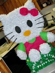 hello kitty custom pinata   Veronica's Hello Kitty Pinata   Evolving Media Services