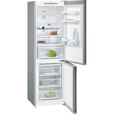 Siemens Kg36nvi35g Frost Free Fridge Freezer Stainless Steel Fingerprint Marks Electrical