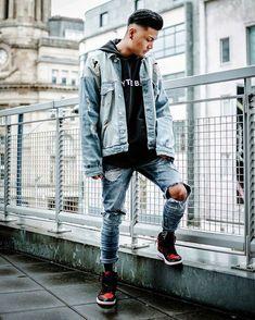 WEBSTA @all.streetwear Denim on Denim Yes or No?