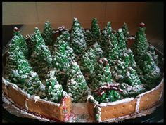 Rice Crispy Christmas Trees!