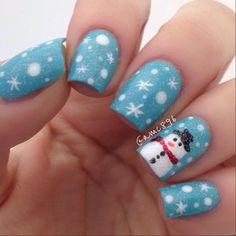 christmas by amc896 #nail #nails #nailart