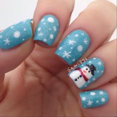 christmas by amc896 #nail #nails #nailart