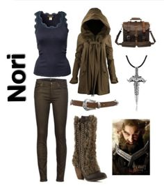 the hobbit inspired outfit ~ nori