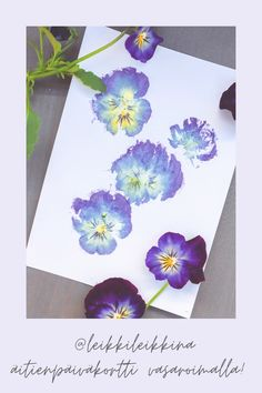Hobbies And Crafts, Diy And Crafts, Watercolor Poppies, Food Coloring, Montessori, Muoto, Origami, Projects To Try, Cards