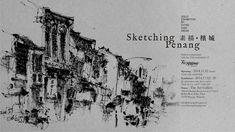 Sketching Penang_Wallpaper 01