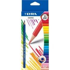 Lyra Osiris 12 darabos háromszög alakú színes ceruza készlet Ft Ár 689