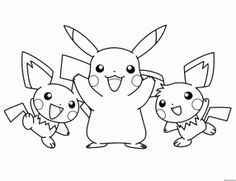imagenes para colorear de pokemon blanco