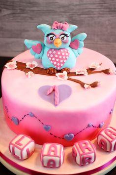 Eulen Torte / Owl Cake