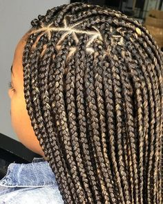 Long Box Braids: 67 Hairstyles To Upgrade Your Box Braids - Hairstyles Trends Half Braided Hairstyles, Try On Hairstyles, Braided Hairstyles For Black Women, My Hairstyle, Box Braids Hairstyles, Baddie Hairstyles, School Hairstyles, Everyday Hairstyles, Blonde Box Braids