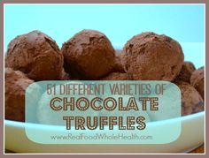 Real Food Homemade Truffles