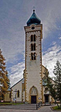 Slovakia, Liptovský Mikuláš - Church of St. Nicholas
