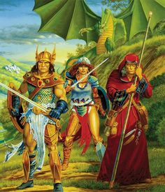 Dragons of Spring Dawning - Larry Elmore
