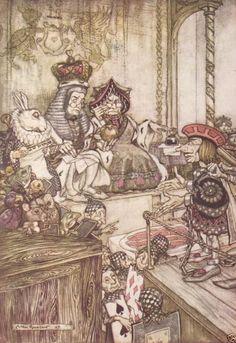 Arthur Rackham Alice's Adventures In Wonderland Photo Art Print #12 of 13 Images