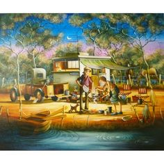 Max Mannix Home Away From Home Graham Gercken, Australian Artists, Home And Away, Posters, Paintings, Classic, Derby, Paint, Painting Art