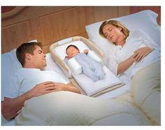 snuggle nest is portable, you can put it on the couch, in a co-sleeper, in bed between you, and it's so comfy and safe.
