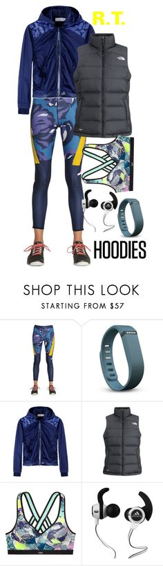 """""""R.T.-895 Winter Layering: Hot Hoodies"""" by sopo-davituri on Polyvore featuring мода, adidas, Fitbit, The North Face, Monster, women's clothing, women's fashion, women, female и woman"""