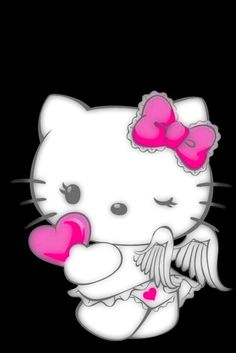 Hello Kitty Angel Wallpaper...By Artist Unknown...