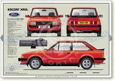 classic car portrait - My old classic car collection Ford 2020, Ford Rs, Car Ford, Classic Mercedes, Ford Classic Cars, Retro Cars, Vintage Cars, Car Prints, Cars Uk