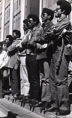 The Black Panther Party, Federal Building, Mayday, 1969 — at San Francisco Federal Building.