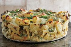 Good things happen when you smother pasta in cheese and bake it until it's a gooey, tangled web of deliciousness.