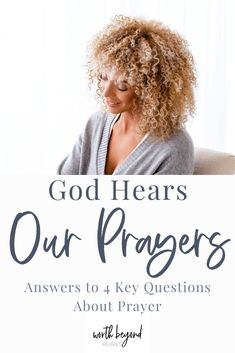 Does God hear our prayers? And if He hears them, does God answer prayer? Are there only certain types of prayers from only certain types of people that get answered? Read on and learn more about how God views prayer and how He responds to our petitions as we look at 4 key questions we have about the nature of prayer and Adonai's response. #prayer #prayingwithconfidence #praying #answeredprayer #warroom
