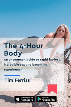 Read or listen to the key insights of \The Body. An uncommon guide to rapid fat-loss incredible sex and becoming superhuman\ by Timothy Ferriss in just 15 minutes with the Blinkist app. Timothy Ferriss, Tim Ferriss, Fitness Diet, Fitness Motivation, Health Fitness, Business Ideas Uk, Yoga, Multi Level Marketing, Get In Shape