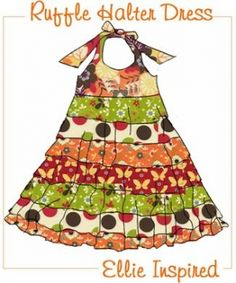 Free Patterns & Projects » Ellie Inspired - Several cute dresses