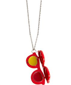What a nice idea! Don't know if you can really use it but it's fun. Molly Lipbalm Necklace, Andrea Garland