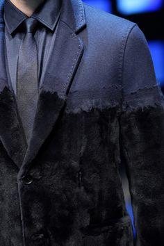 Silvia Fendi's Fall 2012 menswear collection
