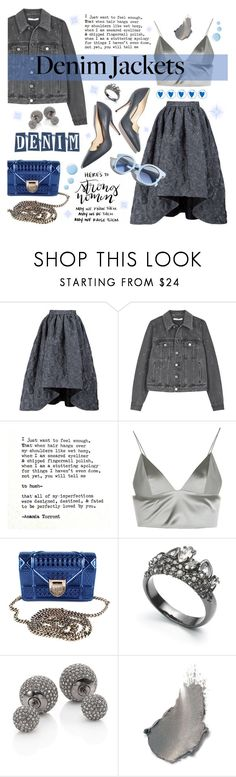 """""""Senza titolo #853"""" by francescar ❤ liked on Polyvore featuring Christian Siriano, Givenchy, Hush, T By Alexander Wang, Paul Andrew, Christian Dior, Alexis Bittar, Adriana Orsini, Pinko and Topshop"""