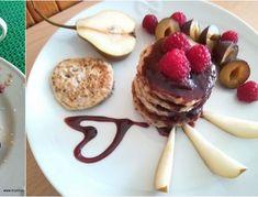 Chia kokosové lívanečky Pancakes, Breakfast, Fit, Morning Coffee, Shape, Pancake, Crepes