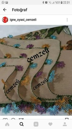 648 Likes, 19 Comments - İğneo Fashion Casual, Create, Needlepoint