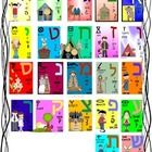 This is the Hebrew Aleph Bet (alphabet) all on one page! This is great for learning all the letters through songs and pointing to each letter as ...