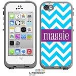 Monogrammed LifeProof® frē iPhone 5c Case - Chevron