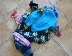 Aktuell getragene Kinderkleidung organisieren