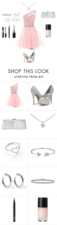 """Homecoming outfit"" by fashion-statemint ❤ liked on Polyvore featuring Jessica McClintock, Cartier, Jordan Askill, Bling Jewelry, Sophie Buhai, BERRICLE, Max Factor, NARS Cosmetics and MAC Cosmetics"
