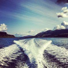 Boating, Scottish Highlands, Scotland