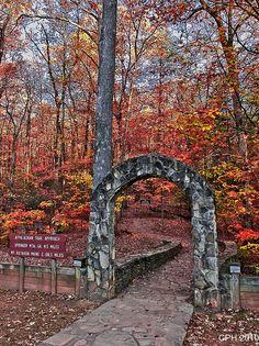 363) Amicalola Falls SP GA, Appalachian Trail approach - start point | Flickr - Photo Sharing!