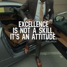 Excellence is not a skill, it's an attitude. or ? >> @adillaresh for more! #adillaresh