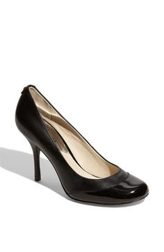 MICHAEL Michael Kors 'Pressley' Cap Toe Pump  The Newest addition to my family of shoes :)