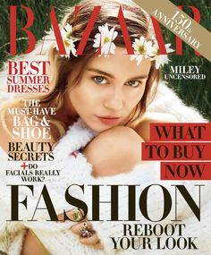 "Miley Cyrus On Her Wild Past, Reinvention and Being a ""F*cking Role Model"" - HarpersBAZAAR.com"