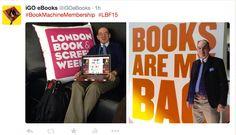 Book Machine Membership : London Book Fair '15