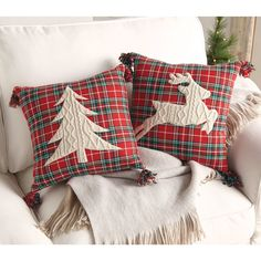 Most up-to-date Free of Charge christmas Sewing ideas Concepts Super diy christmas pillows xmas ideas Christmas Sewing, Plaid Christmas, Rustic Christmas, Christmas Quilting, Christmas Christmas, Christmas Ornaments, Sewing Pillows, Diy Pillows, Throw Pillows